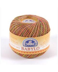DMC Babylo Multicolor nr.30 kl.4510 oranje geel bruin 50gram