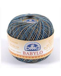 DMC Babylo Multicolor nr.30 kl.4515 blauw grijs 50gram