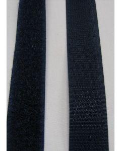 Donker blauw klittenband