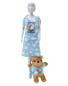Dress Your Doll Zelf Barbiekleren naaien Sleepy sweetdreams pn-0164648