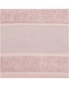 Gastendoek oud roze  incl. borduurrand aida om te borduren Rico design 740268.61