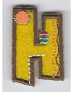 Fun letter H, applicatie