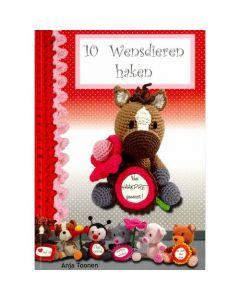 Haakboek 10 wensdieren haken van Anja Toonen