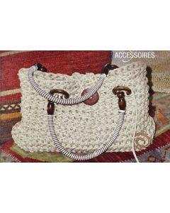 Haakpakket tas Anya van schoeller # stahl wol excl hengsel