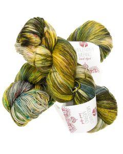 Hand-Dyed Meilenweit Merino kl.304 Roti