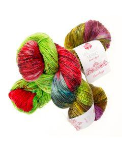 Hand-Dyed Meilenweit Merino kl.307 himalaya