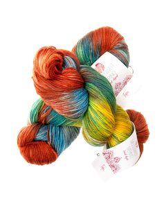 Hand-Dyed Meilenweit Merino kl.408 Tapi