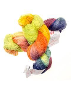 Hand-Dyed Meilenweit Merino kl.409 Beas