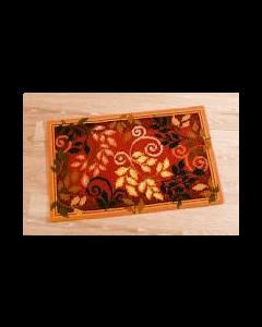 Vervaco borduurpakket kruissteek vloerkleed herfstbladeren  pn-0145151