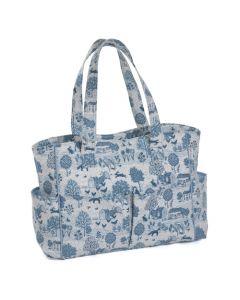 Hobby Gift handwerktas Delfts blauw