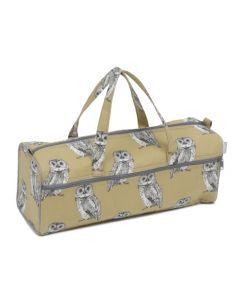 Hobby Gift handwerktas grijze uilen