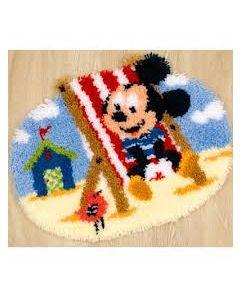 Mickey in strandstoel