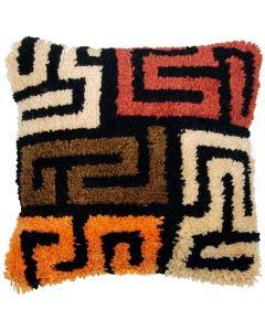 Knooppakket Knoopkussen Kuba cloth patterns Vervaco pn-0175306