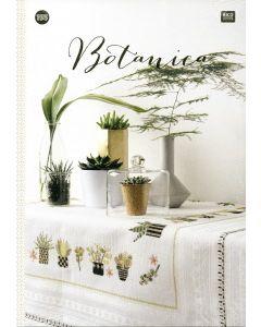 Rico Design borduurboekje Botanica Nr.155 met borduurpatronen