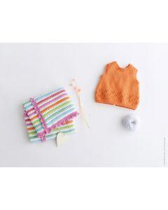 Lana Grossa baby topje breien van Elastico (Infanti edition 2, m17)