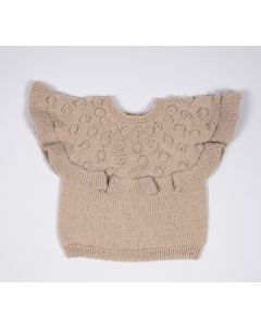 Lana Grossa baby trui met nopjes breien van Cool Wool Baby (infanti edition 2, m2)