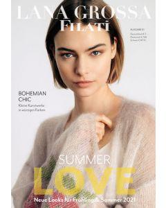 Lana Grossa Filati uitgave 61 zomer breiboek