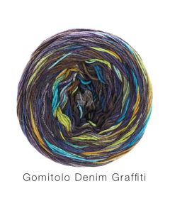 Lana Grossa Gomitolo Denim Graffiti kl.360