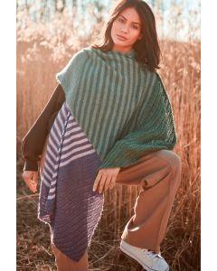 Lana Grossa Lace Seta Mulberry sjaal breien uit Doeken en Co Nr.5 M21