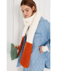 Lana grossa makkelijke sjaal breien van Per Lei (Easy, m1)