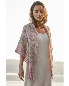 Lana Grossa omslagdoek van Allora hand-dyed (m10)