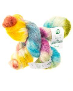 Lana Grossa Silkhair hand-dyed kl.602 Taj