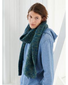 Lana Grossa sjaal breien van Inizio (easy 1,m12)