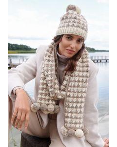 Lana Grossa sjaal haken van Brigitte No.2 M13