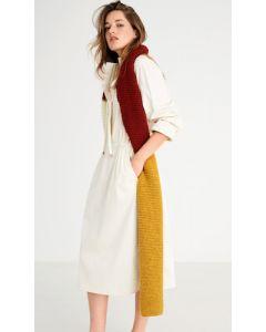 Lana Grossa sjaal van Cool Merino breien M27