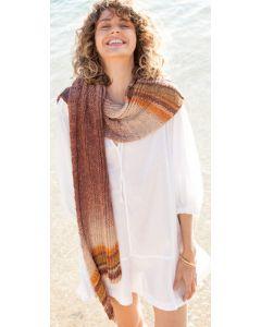 Lana Grossa sjaal van Gomitolo Felice (m18)