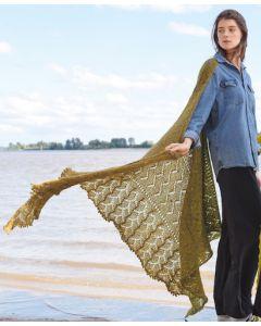 Lana Grossa sjaal van Nuvoletta (m41)