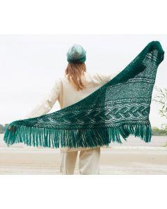 Lana Grossa sjaal van Nuvoletta (m48)