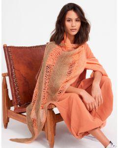 Lana Grossastola breien van Cool Wool Lace hand-dyed en Silkhair m10