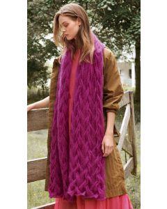 Lana Grossa stola breien van Silkhair (m19)