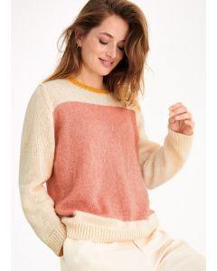 Lana Grossa trui van Ecopuno breien M23