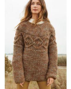 Lana Grossa trui van Inizio breien M33