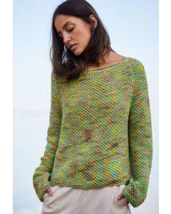 Lana Grossa trui van Pima Fine hand-dyed (m8)
