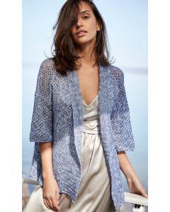 Lana Grossa vest van Allora hand-dyed (m1)