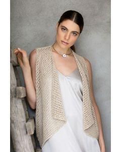 Lana Grossa vestje breien van Nizza uit Collezione 1