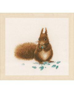 Lanarte borduurpakket Eekhoorntje van Marjolein Bastin pn-0175673