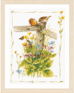Lanarte borduurpakket gezellige tuinhoek van Marjolein Bastin borduren pn-0180560