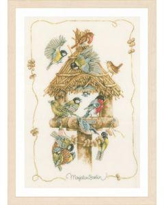 Lanarte borduurpakket vogelhuisje van Marjolein Bastin pn-0007962 borduren
