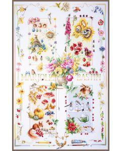 Lanarte Limited Edition 4 seizoenen borduurwerk van Marjolein Bastin