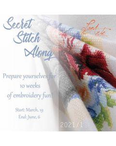 Lanarte Secret Stitch Along 2021/1 borduren PN-0191866