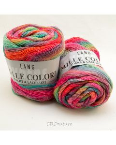Lang Yarns kl.51 Mille Colori Socks & Lace Luxe
