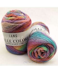 Lang Yarns kl.56 Mille Colori Socks & Lace Luxe