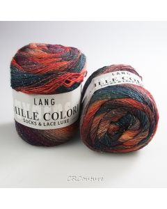 Lang Yarns kl.16 Mille Colori Socks & Lace Luxe