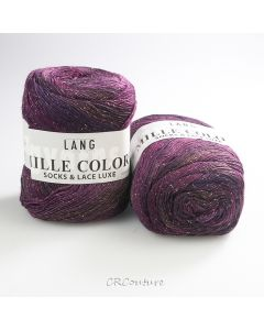 Lang Yarns  Mille Colori Socks & Lace Luxe kl.80