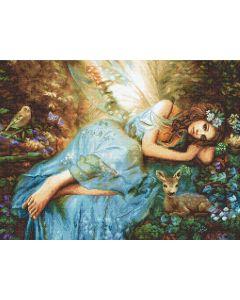 Borduurpakket Spring Fairy  van Letistitch 960