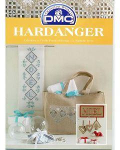 """DMC Hardangerboek Hardanger """"Noël"""""""